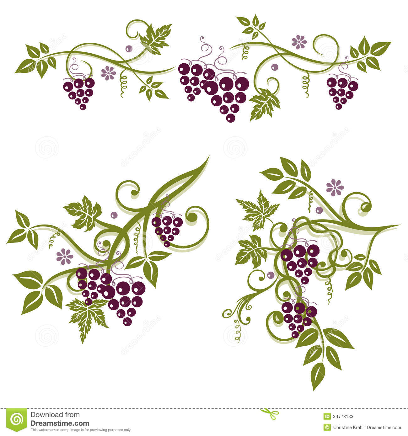 Vineyard clipart grape plant Pinterest Google La leaves vine