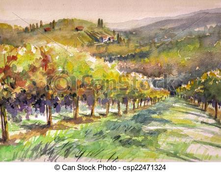 Vineyard clipart village Vineyard with Picture Vineyard