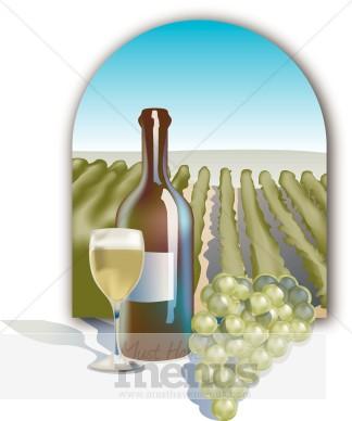 Wine clipart winery Templates 68 Vineyard MustHaveMenus( )