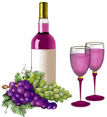 Vineyard clipart wine tasting Cost Estates Inwood Grapes Wine