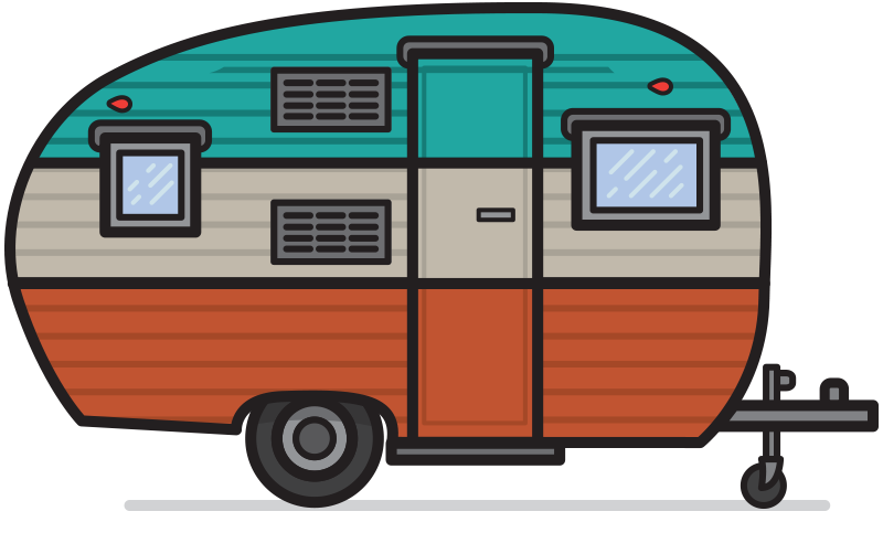 Camper clipart weekend activity Tin Tourists & Weekend Rally