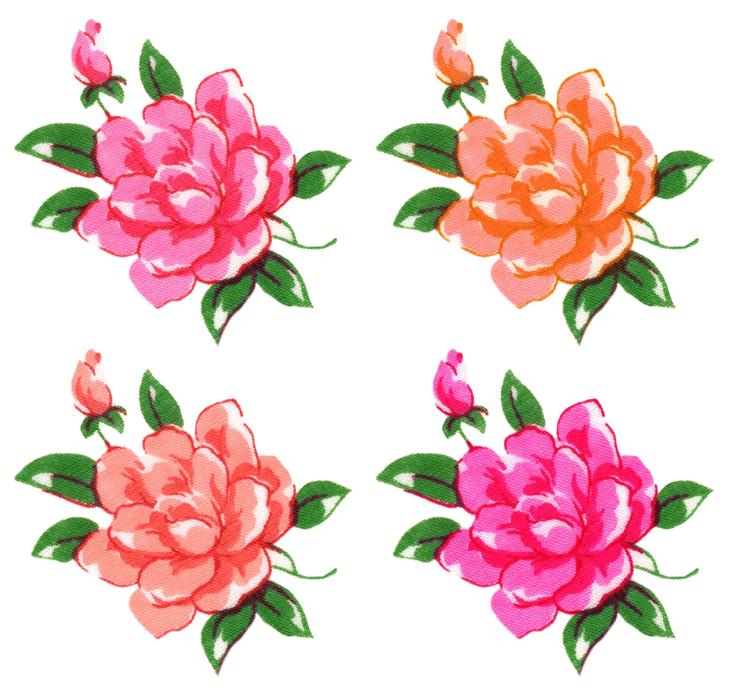 Floral clipart retro flower By Free FPTFY Things Free