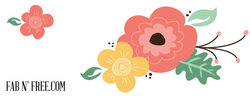 Vintage Flower clipart #1