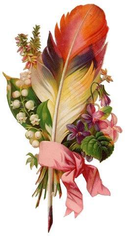 Vintage Flower clipart #5