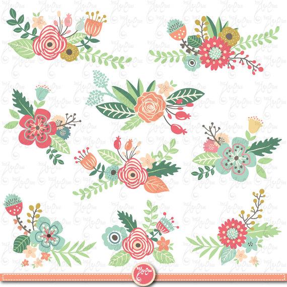 Vintage Flower clipart #7
