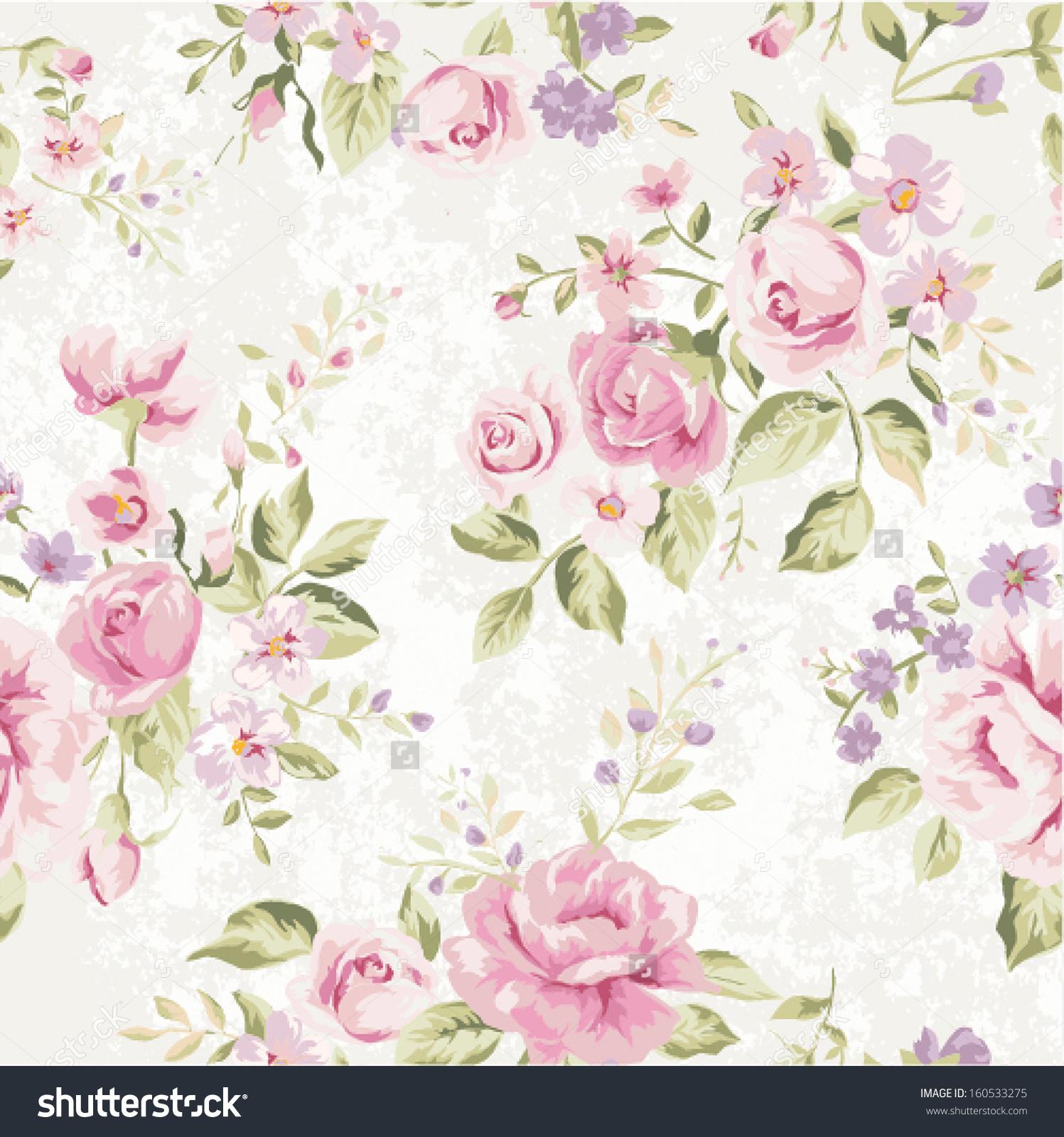 Vintage Flower clipart background Wallpaper vintage stock classic classic