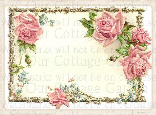 Vintage Flower clipart gardening Find 314 VINTAGE Pin &