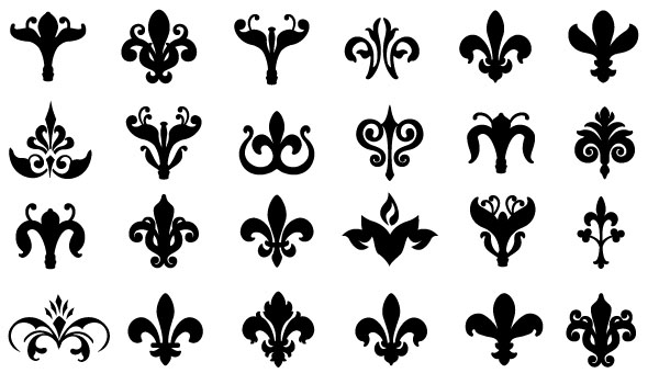 Vintage Flower clipart small flower Free Download Free Vector 70+