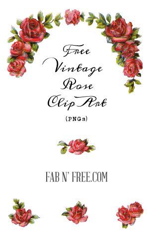 Vintage Flower clipart vintage birthday #12