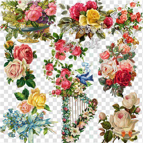 Vintage Flower clipart vintage love Love BirthdayVintage Craft CardsCard Pinterest
