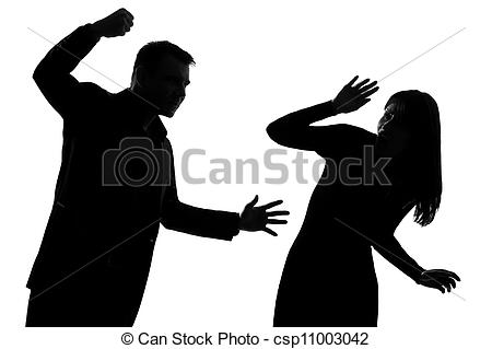 Violence clipart unhappy family Domestic Violence  Clipart
