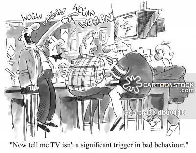 Violence clipart bad behaviour TV in The isn't behaviour