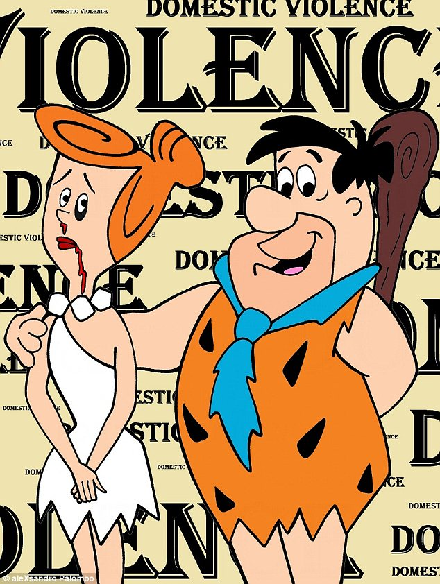 Violence clipart bad person Inspection Fred image to Flintstone