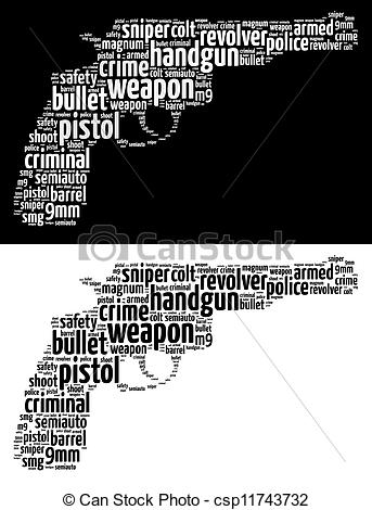 Violence clipart handgun Text  info of Revolver