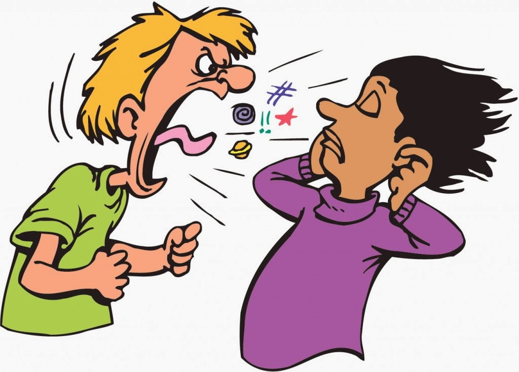 Violence clipart harsh Fingers in Being Upset with