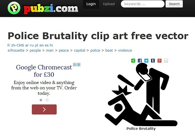 Violence clipart police brutality This by image anti it