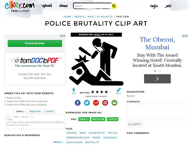 Violence clipart police brutality Same scrap called poster an