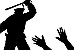 Violence clipart police brutality Clipart Clipart Brutality Police Brutality