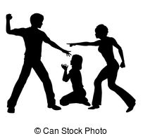Violence clipart strict parent Up daughter Domestic beats Images