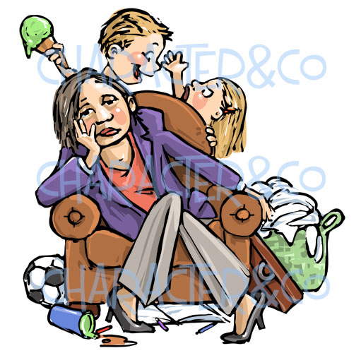 Violence clipart strict parent Com/blog/exhausted athicketofmusings working http://charactercompany parenting