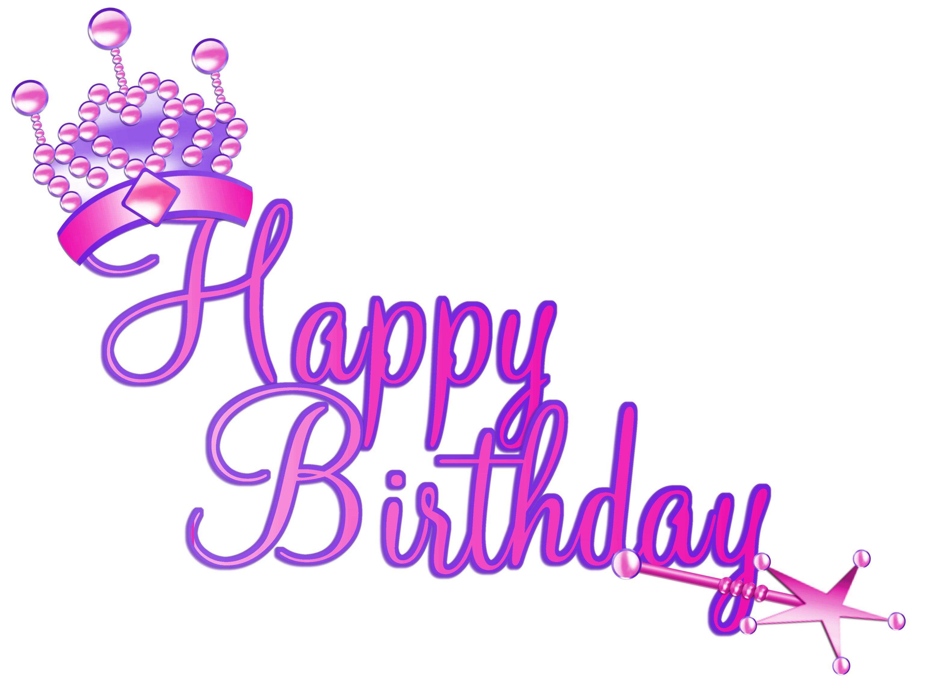 Sofia clipart happy birthday Birthday  Glamorous Birthday creation