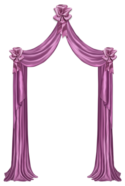 Curtain clipart violet Decor PNG Decor Clipart Picture