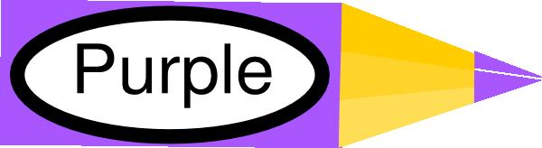 Pencil clipart violet Online royalty Pencil Clker