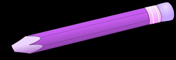 Pencil clipart violet Free (26+) pencil Purple Clipart