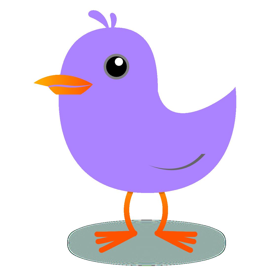 Brds clipart purple Clipart Clipart Clipart Tweet tweet%20clipart
