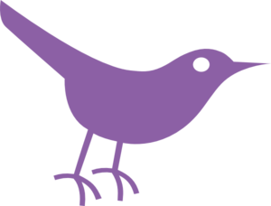 Bird clipart butterfly Purple art clip Bird com