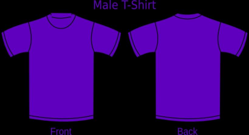 Shirt clipart purple Template t clipart shirt t