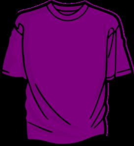 Shirt clipart purple Clip at com Shirt online