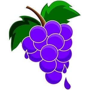 Grape clipart one Grape grape clipart One clipart