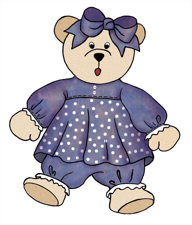 Teddy clipart little bear #14