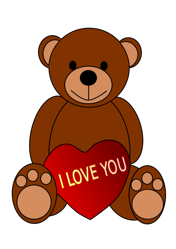 Brown Bear clipart teddy bear Use Art to Free Sign