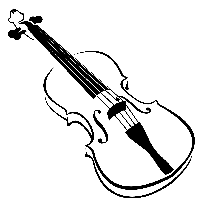 White clipart violin White cliparts Violin art and