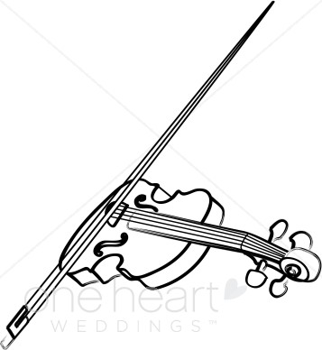 Violin clipart classical Wedding Wedding Song Clipart Violin