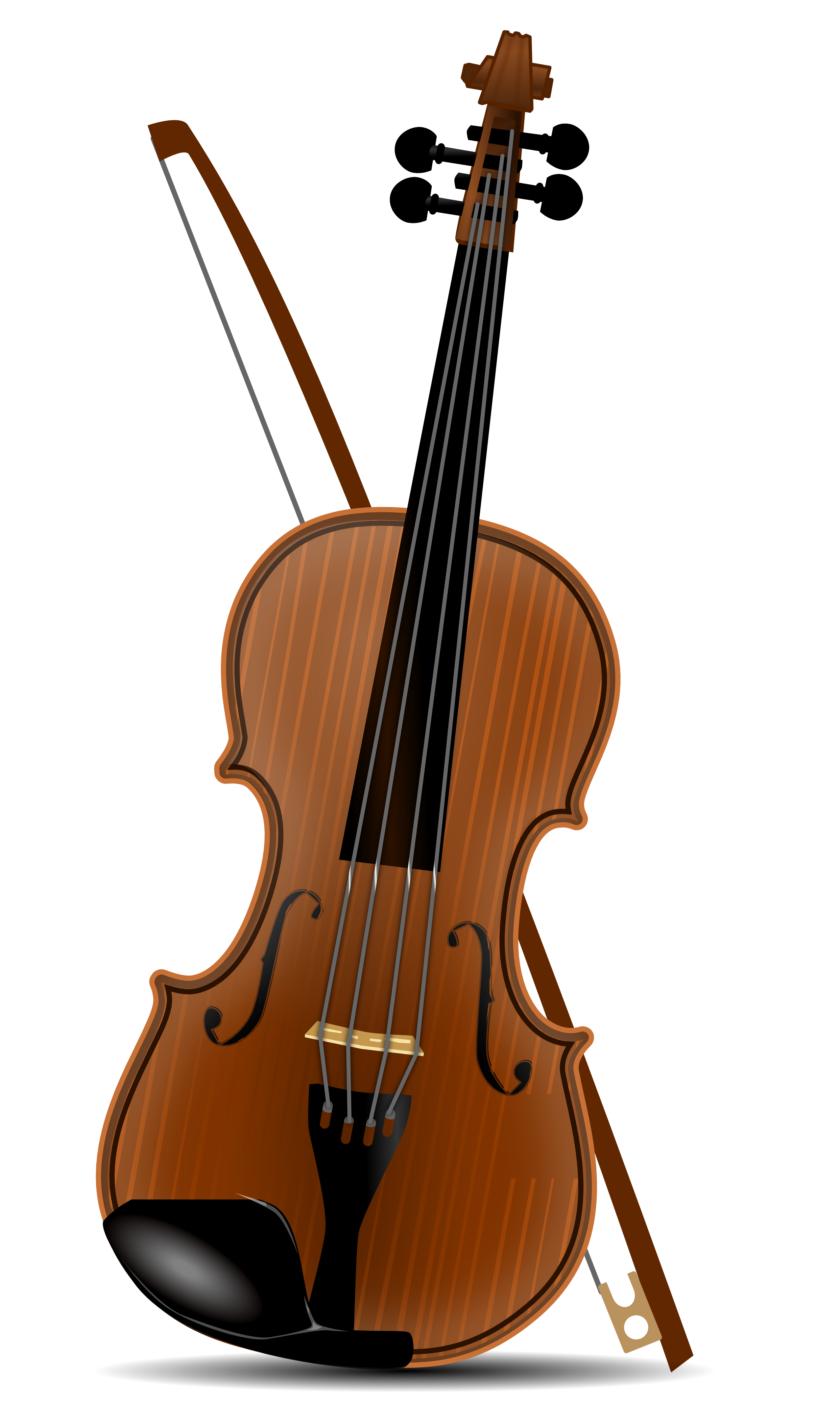 Brown clipart violin Violin (4879) Clipart Violin Easy