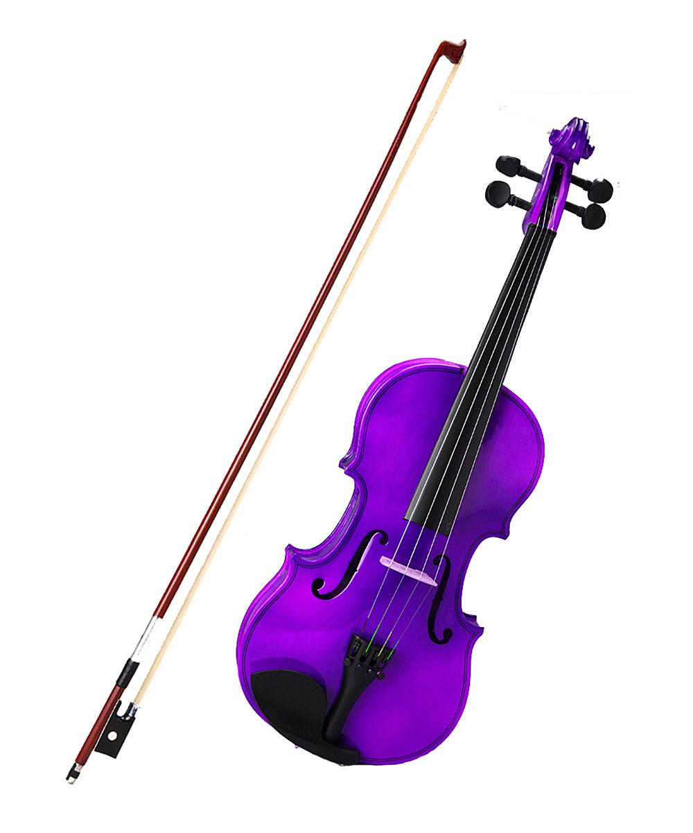 Violin clipart purple Purple Violin zulily Size 1/8