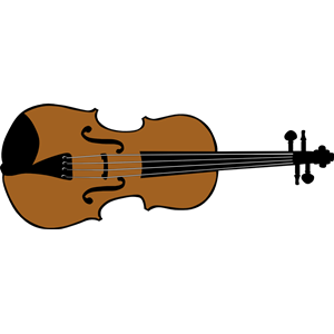 Brown clipart violin Simple Clipart Violin Simple ClipartMe