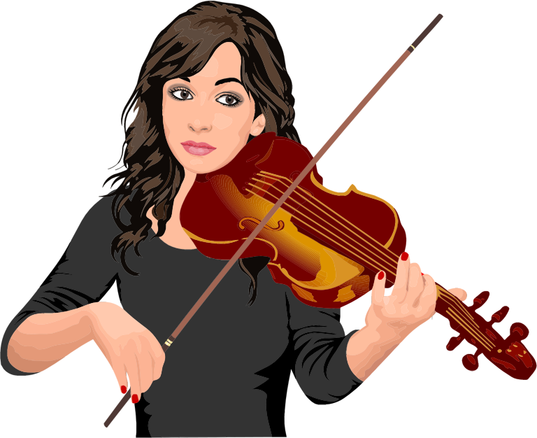 Violinist clipart Clip Art Violinist  Free