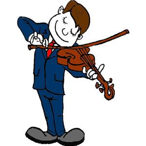 Violinist clipart 2 Clip 41 kid Art