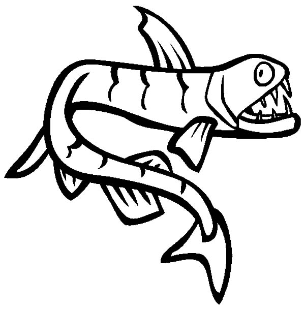Viperfish clipart Is Fish Sea Tripod Pages