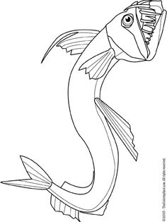 Viperfish clipart Minecraft by deviantart Ideas: