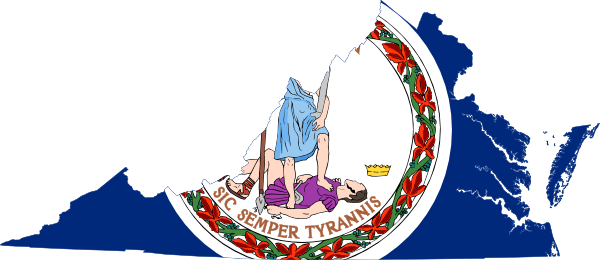 Virginia clipart Art Art image Map com