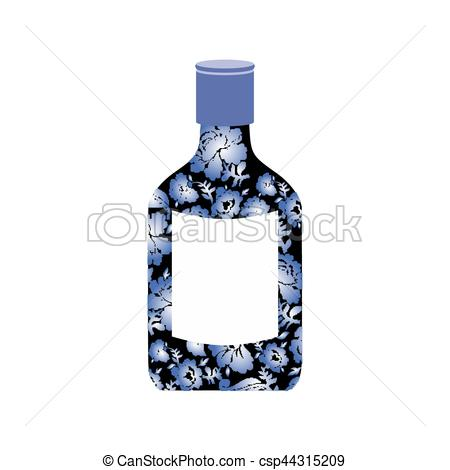 Vodka clipart alcohol Bottle of  painting folk