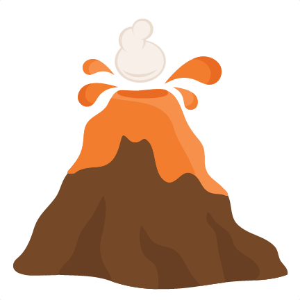 Brown clipart volcano Image Volcano Cliparting clip com