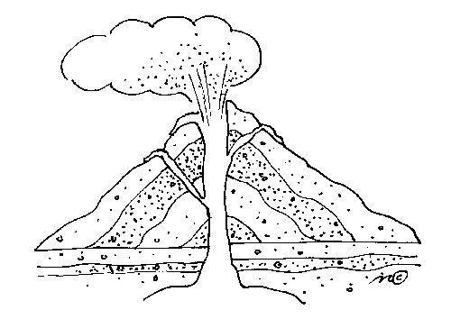 Volcano clipart black and white And Gclipart com on clipart