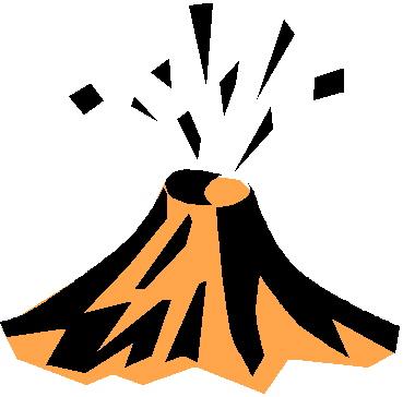 Earthquake clipart volcano Volcano cartoon clipart free images