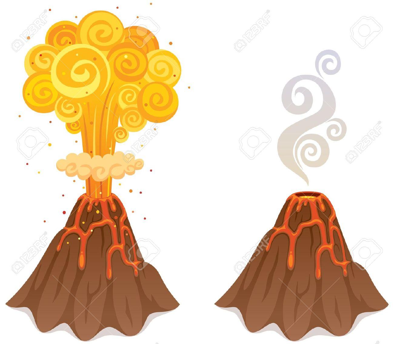 Brown clipart volcano Fans #11 volcano 71 clip